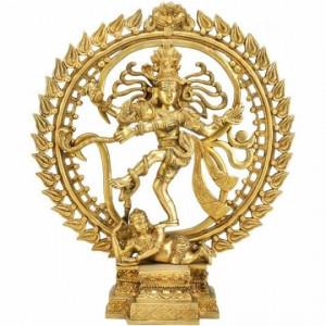 Natraj (Shiva) Brass Statue