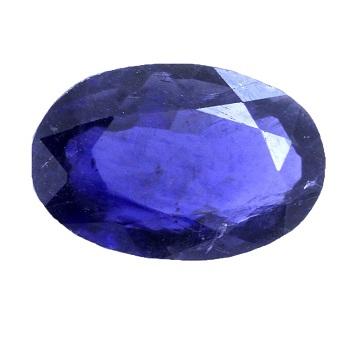 Oval Shape Iolite Gemstone