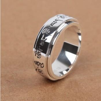 Sterling Silver Tibetan Rings