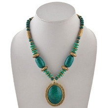 Tibetan Style Beaded Jewelry Necklace