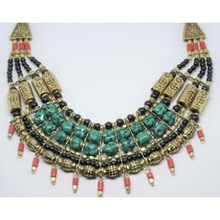 Traditional Ethical Necklace Tibetan Jewelry