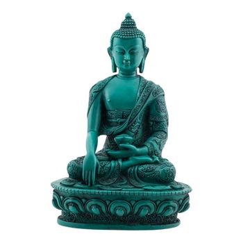 Turquoise Guatama Buddha (Shakyamuni) Statue