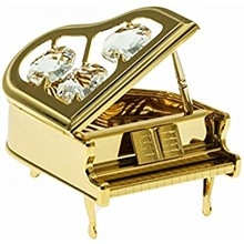 Vintage Gold Plated Piano