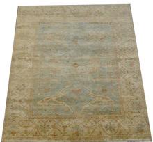 Handmade Woolen Turkish Oushak Bedroom Rug Carpet (UDTUR527)