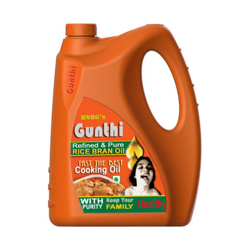5 Litre Gunthi Refined Rice Bran Oil
