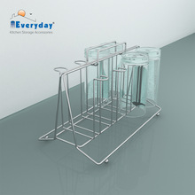 Kitchen Cup and Glass Wire Rack