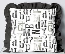 Woven Frill Cushion