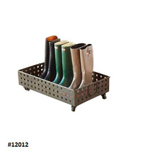 Garden Gate Solid Copper Boot Tray