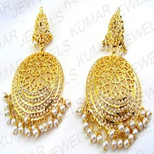 640360035 Ethnic Earrings Manufacturer in Jalandhar Punjab India by KUMAR ...