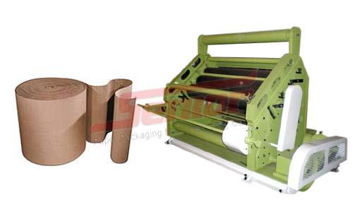 High Speed Single Facer Paper Corrugation Machine