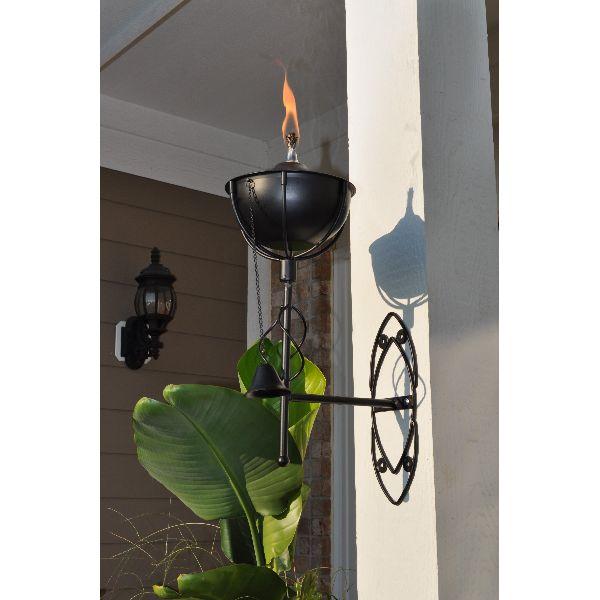 Wall Mount Tiki wick oil lamp Torch