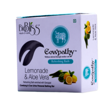 cowpathy Natural lemon soap
