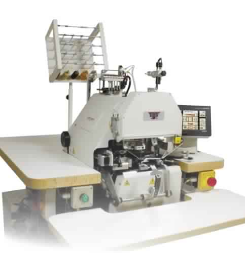 AMF Reece EBS Mark II - Electronic Button Sewing and Wrapping Machine
