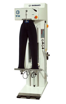 Barbanti TP/60 - Electronic Trouser Topper Finishing Machines