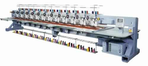 Barudan BEXS-CLZ812 - Chenille Combination Embriodery Machine