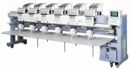 Barudan BEXY-C Series - Compact Embroidery Machine