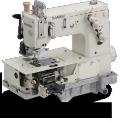 Flatbed Double Chain Stitch Machine