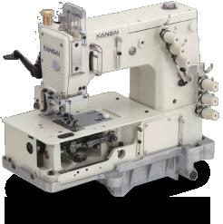 Flatbed Multi Needle Double Chain Stitch Machine
