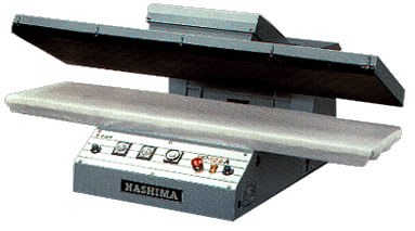 Hashima HP-124A, Automatic Fusing Press - Finishing Machine