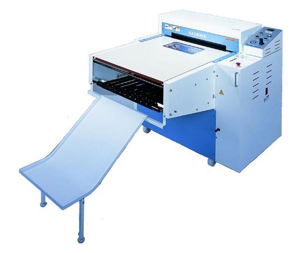 Hashima HPM-600CA - Top Fusing Machine - Finishing
