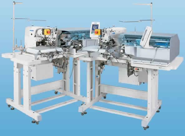 Juki AB-1351 - Automatic Single Needle Belt Loop Attaching Machine