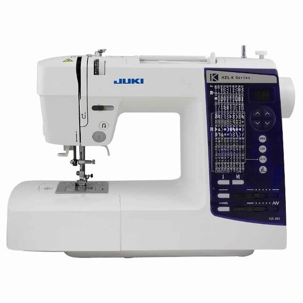 Juki HZL-K85 - Domestic Sewing Machine With 150 Sewing Patterns including 1 Font Of Letter