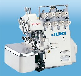Juki Overlock Safety Stitch Machine