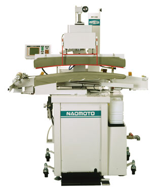 Naomoto NP-151 - Press System for Sleeves, side and center back