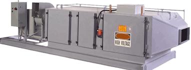 Electrostatic kitchen Air Filteration system