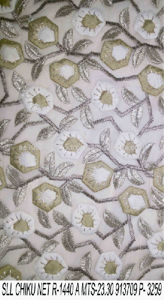 Fancy Embroidery Fabric