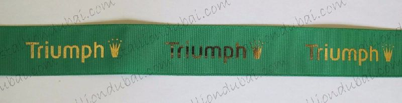 Ribbons - Gold or Silver foil printed