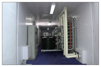 ULTRA PURE WATER MACHINE