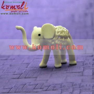 Elephant Made of Glass