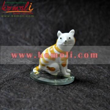 Kitty Handmade Boro Glass