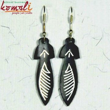 Leaf Ear Rings