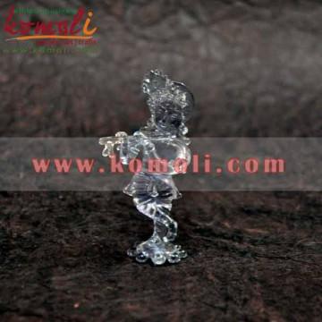 Lord Krishna Made of Glass