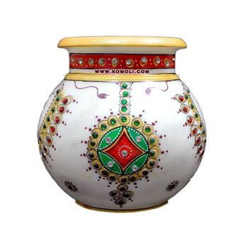 marble kalash pooja items
