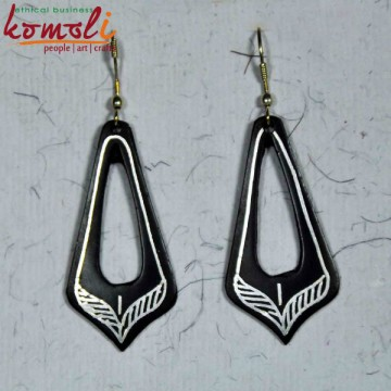 Rhombus Ear Rings