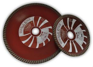 Granite dry concave cutting disc