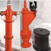 Fire Hydrant for roads and buildings