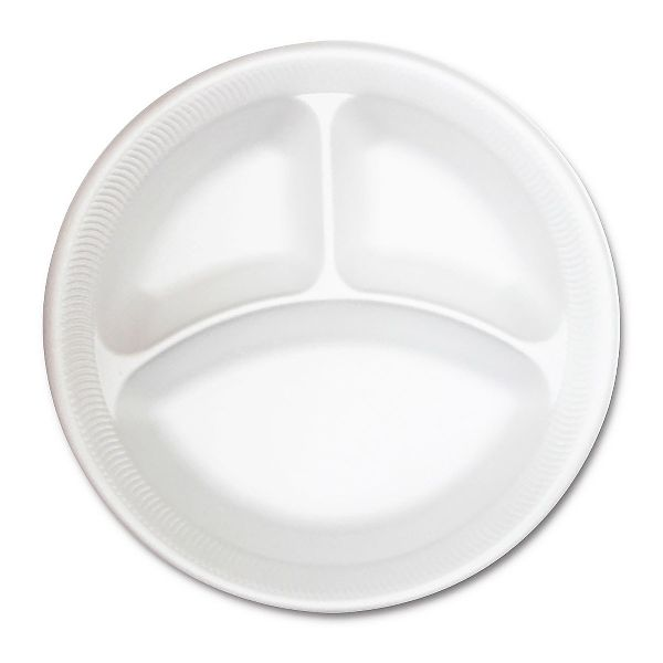 3-Comp. Foam Plate