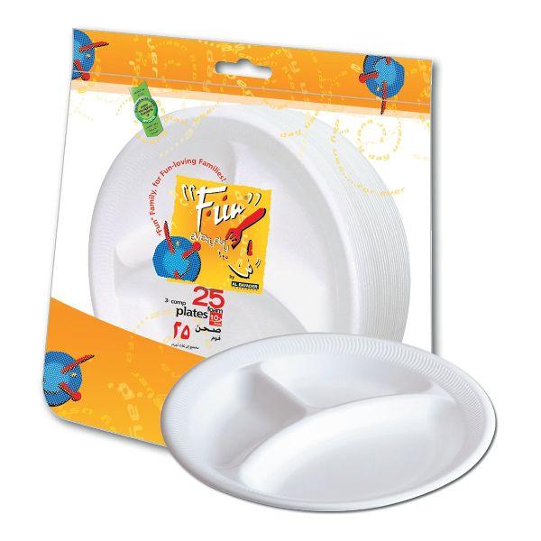 3-Comp.Foam Plate