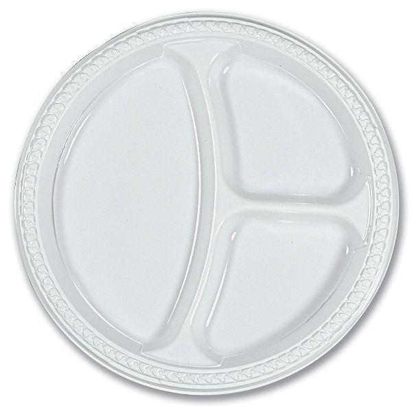 3-Comp. Plastic Plate