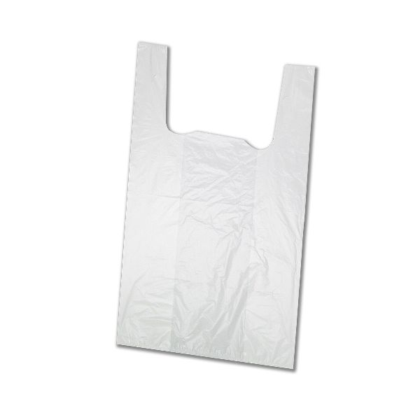 Biodegradable Large T-Shirt HDPE Plastic Bags