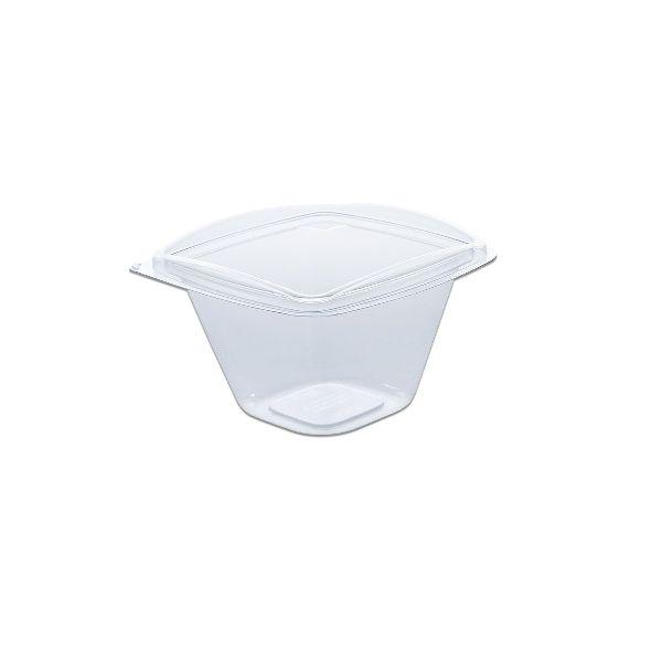 Classipac Clear Plastic Square Bowl
