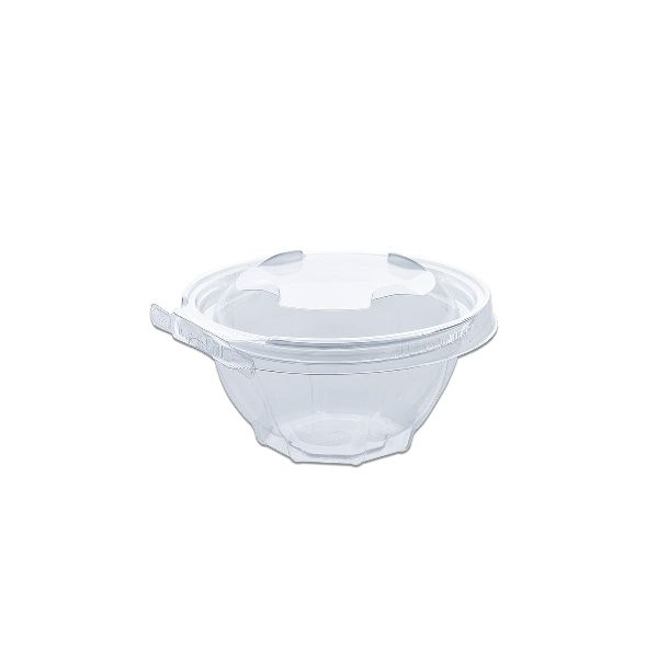 Classipac Tear and Pull Clear Round Container