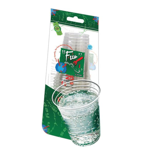 Clear Plastic Cup 12oz