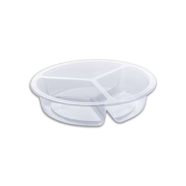 Combopac 3-Comp. (8 8 8oz) Clear Container
