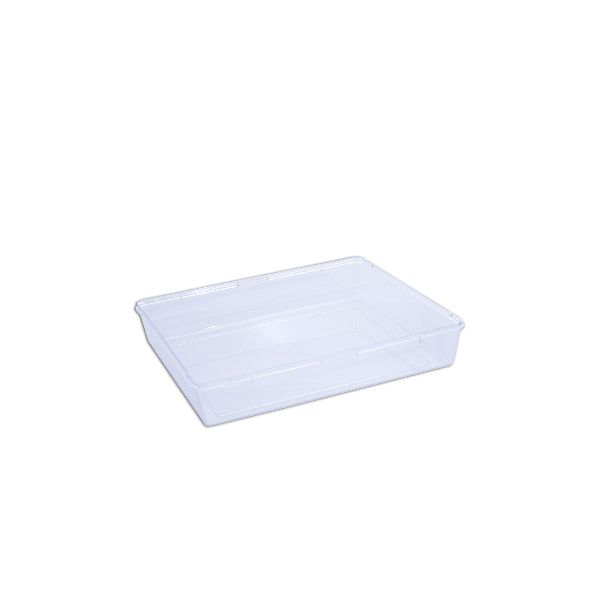 Cristalpac Clear Rectangular Plastic Box