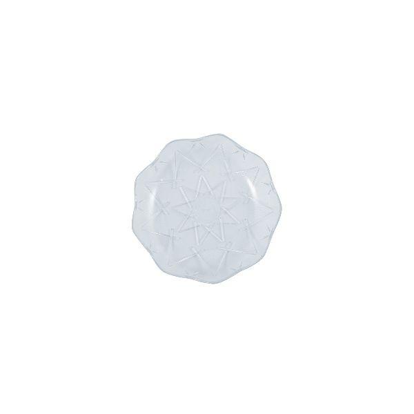 Cristalpac Crystal-Like Plastic Platter